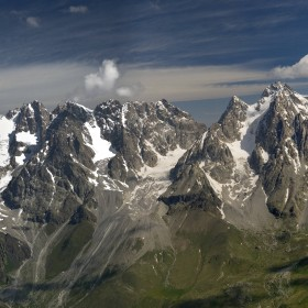 17. The Caucasus Mountains