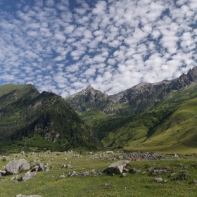 10. The Caucasus Mountains