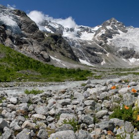 16. The Caucasus Mountains