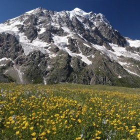 18. The Caucasus Mountains