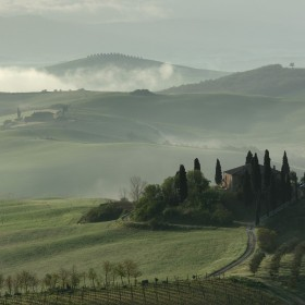 Tuscany Lanscape by Andre Ermolaev